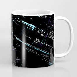 Engineering Technology Industry Background for Electronic Pattern Coffee Mug
