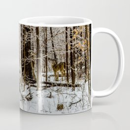 Deer in the Glistening Forest by Teresa Thompson Coffee Mug