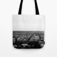 washington Tote Bags featuring Washington  by Rin Wolfe