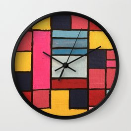 Milan to Minsk Wall Clock