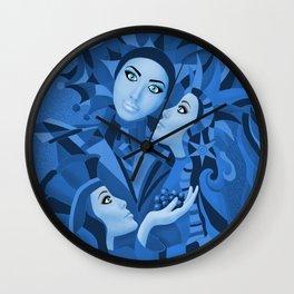 Shared Secrets in Blue Wall Clock