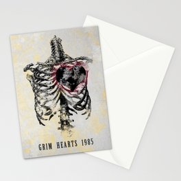 Grim Hearts 1985 Stationery Cards