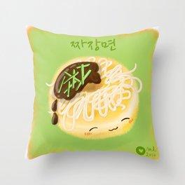 Jjajangmyeon Throw Pillow