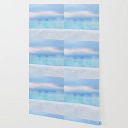 Misty Abstract Wave, Carmel Wallpaper