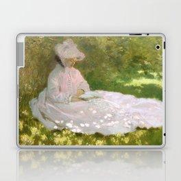 Springtime by Claude Monet Laptop & iPad Skin