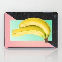 eat iPad Cases featuring Eat Banana by Danny Ivan