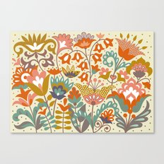 Forest flowers Canvas Print