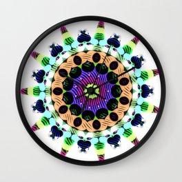 Coco Cream Wall Clock