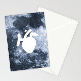 Moony Heart Stationery Cards