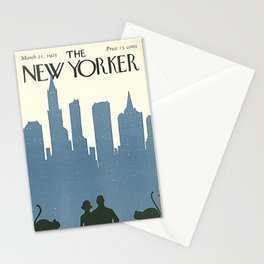 Vintage New Yorker Cover - Circa 1925 Stationery Cards