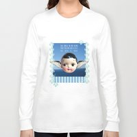 glee Long Sleeve T-shirts featuring ocean glee  by Kelli May-Krenz