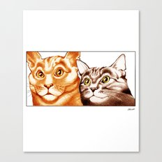 Cats : The Two of Us Canvas Print
