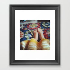 A Child at Heart Framed Art Print