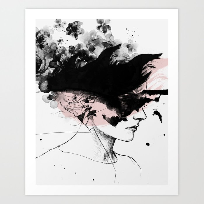 Abstract Water Color Wall Art