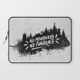 No Mourners No Funerals Laptop Sleeve