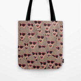 TaylorSwift Faces Tote Bag