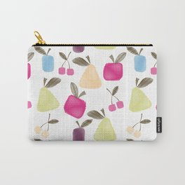Funny cartoon Fruits Carry-All Pouch