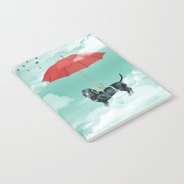 Dachshund chute Notebook