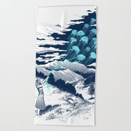 Release the Kindness Beach Towel