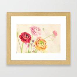 colorful spring Framed Art Print
