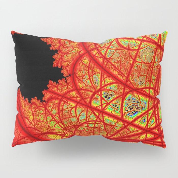 Rainbow Fractal 2 Pillow Sham