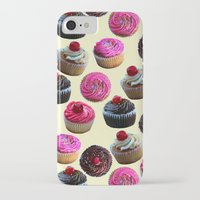cupcakes iPhone & iPod Cases featuring Cupcakes by Tangerine-Tane