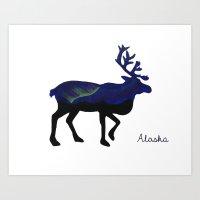 Caribou 2 Art Print
