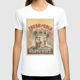 North Pole Fresh and Cold Lager Beer T-shirt