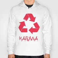 karma Hoodies featuring KARMA by ARTITECTURE