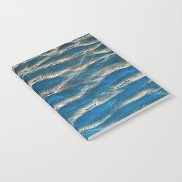 Aqua - blue abstract Notebook