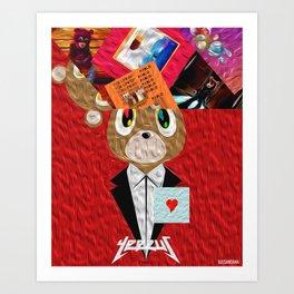 Hip Hop KanyeWest Compilation Art Print