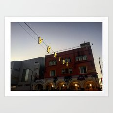 Venice Beach Los Angeles Art Print
