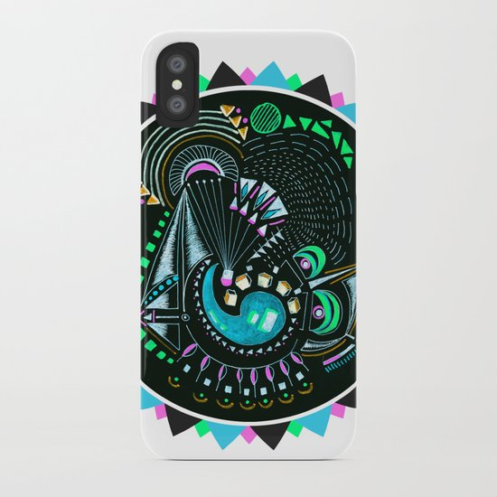 Formed in Space  iPhone Case