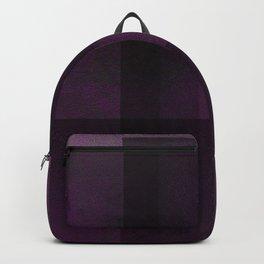 Deep Violet - Digital Geometric Texture Backpack