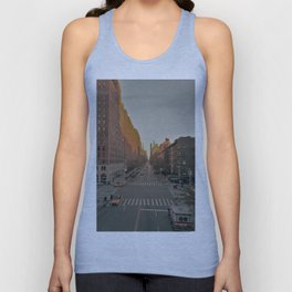 The Yellow Muted City (Color) Unisex Tank Top
