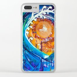 Aoukusai Wave Clear iPhone Case