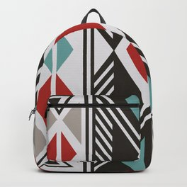 American Native Pattern No. 161 Backpack