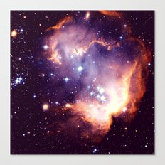 The Heart of the Galaxy Canvas Print