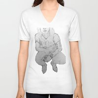harry V-neck T-shirts featuring Harry by Dilara