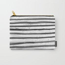 Zebra Swirl Stripe Carry-All Pouch