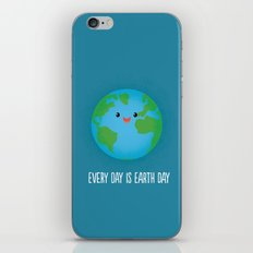 Every Day is Earth Day iPhone & iPod Skin