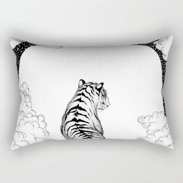 Tiger Moon Rectangular Pillow