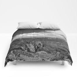 North_Rim Grand_Canyon, AZ - B&W I Comforters