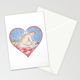 Sweet Cheeks Steve Stationery Cards