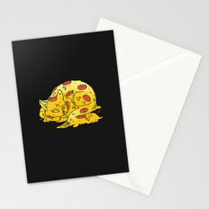 Pepperoni Pizzacat Stationery Cards