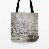 letter Tote Bags featuring LETTER by ED design for fun