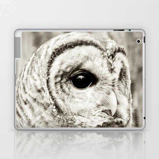 Wise Old Owl Laptop & iPad Skin