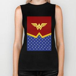 Wonder Of Woman - Superhero Biker Tank