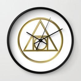 Alchemical symbol Wall Clock