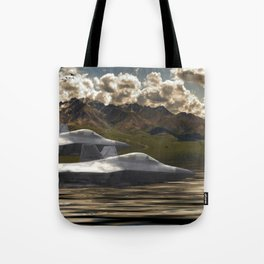 Fighter Jets Tote Bag